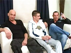 Three friends from London