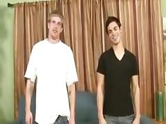 Curious juvenile boys