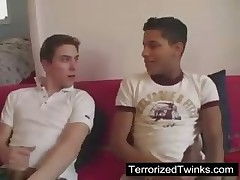 Cute boys in raw twink action
