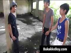 Homo asians in threesome porn movie scene part6