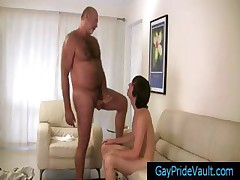 Bear fucking cute twink hard part1