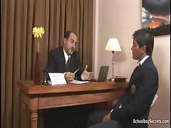 Twink at a job interview