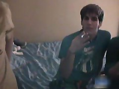 Str8 teen guy in hot gay threesome part3