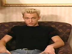 Golden-haired Twink Matt - Solo